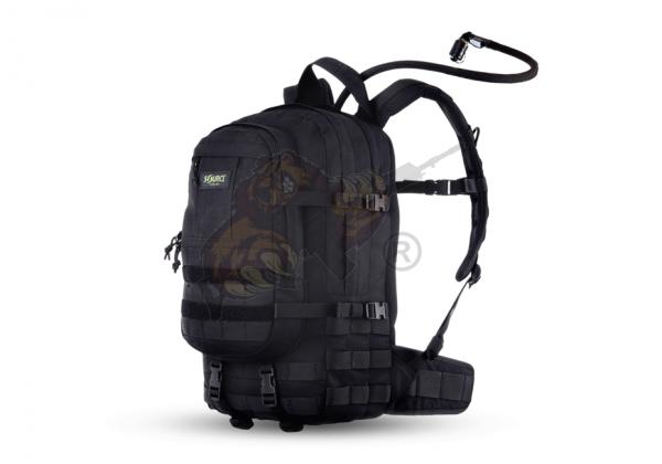 Assault 20L Hydration Rucksack Black - Source