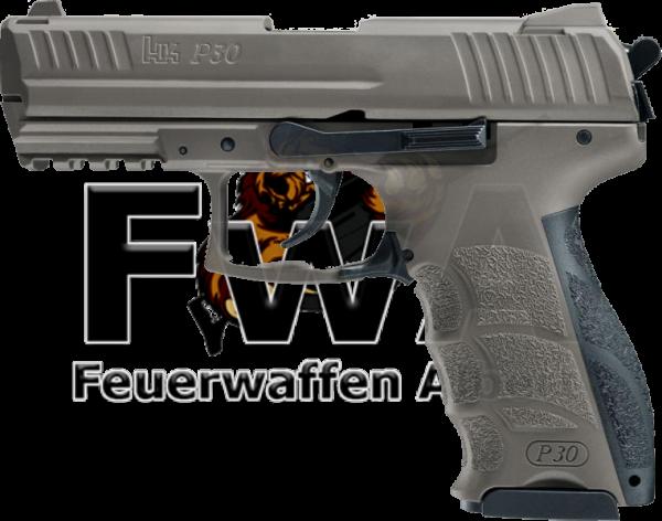 H&K P30 Schreckschuss Pistole cal. 9 mm P.A.K. FDE
