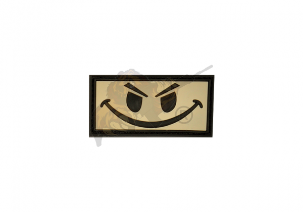 JTG - Evil Smiley Rubber Patch Snow