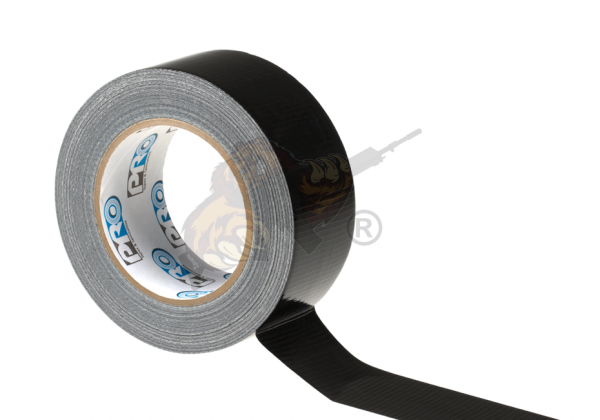 Mil Spec Duct Tape 2 Inches x 30 yd in Schwarz - Pro Tapes