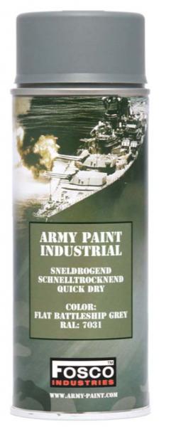 Farbspray Army Paint 400ml Matt Battleship Grey- Fosco Industries
