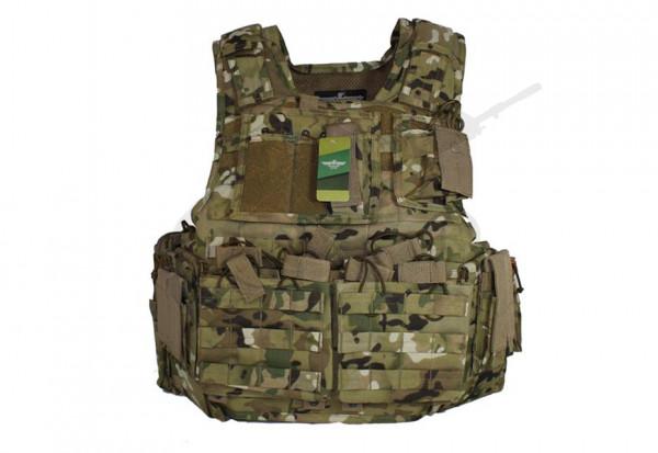 Mod Carrier Combo ATP (Invader Gear) - komplett mit Taschen ausgestatteter MOLLE Plattenträger