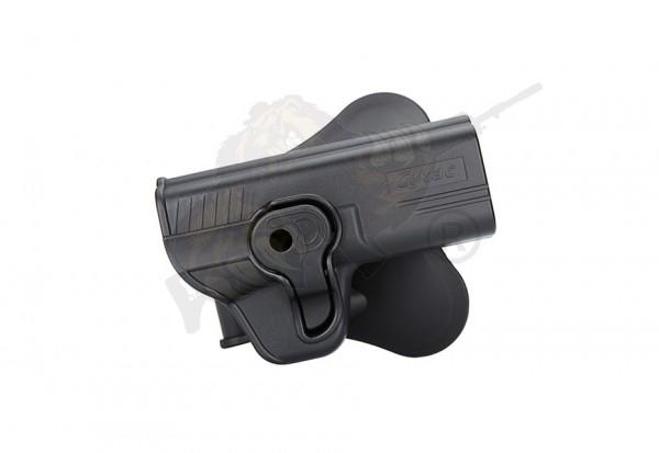 Cytac Holster für S&W M&P9 9mm / Girsan MC 28 SA Schwarz