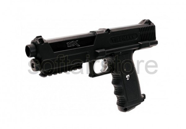 Tippmann TPX Pistol Black Kal. .68 für Paintballs, Pfeffer- oder Gummigeschosse