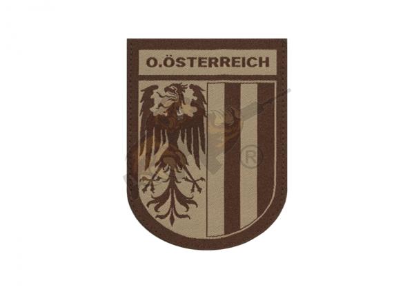 Oberösterreich Shield Patch Desert - Clawgear