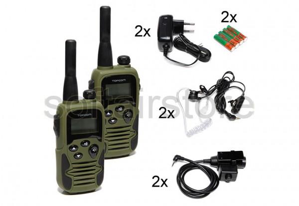 Topcom PTT Set - Security Heatset (2er Pack)