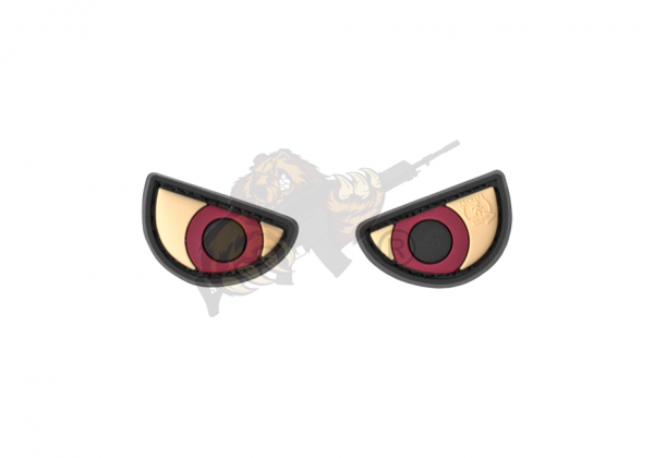 JTG - Angry Eyes Rubber Patch