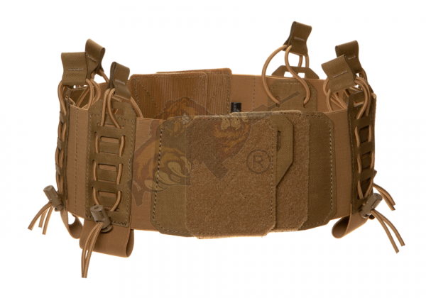 CPC Standard Elastic Cummerbund with Pouches Coyote - Templar's Gear