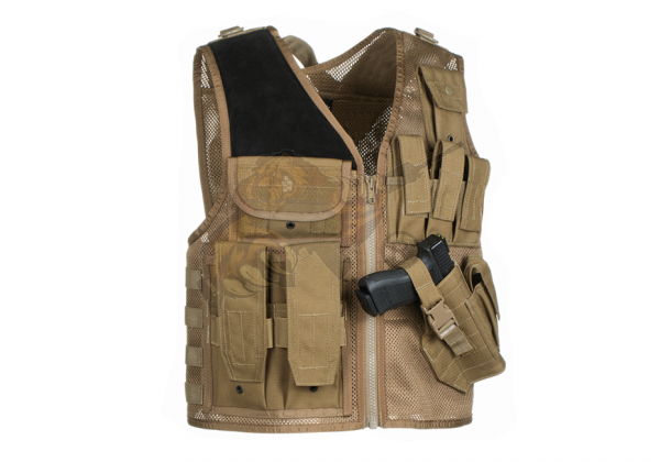 Mk.II Crossdraw Vest Coyote - Invader Gear