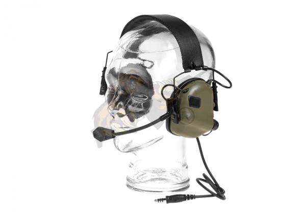 M32 Tactical Communication Hearing Protector Foliage Green - Earmor