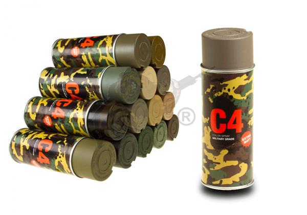 C4 Mil Grade Color Spray in RAL 7050 - Armamat