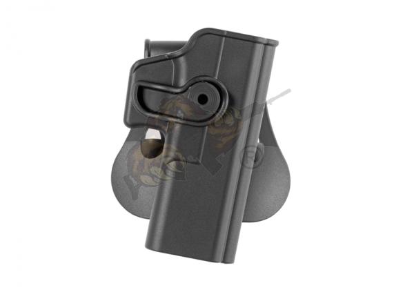 Roto Paddle Holster für Glock 20/21/28/37/38 Schwarz (rechts) - IMI Defence