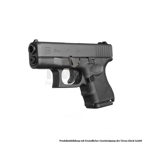 Glock 26 Gen 4 im Kaliber 9 x 19 Schwarz - für Glock