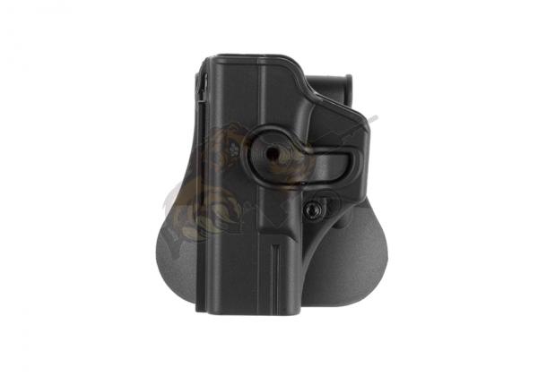 Roto Paddle Holster für Glock 19 Schwarz (links) - IMI Defence