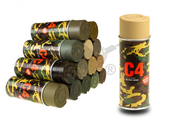 C4 Mil Grade Color Spray in RAL 1040 - Armamat