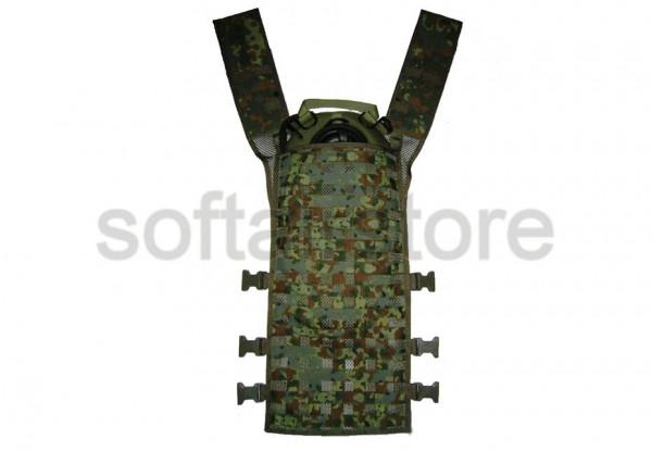 IDZ-W Rückenteil Leicht mit Tasche 5-FB-Tarndruck