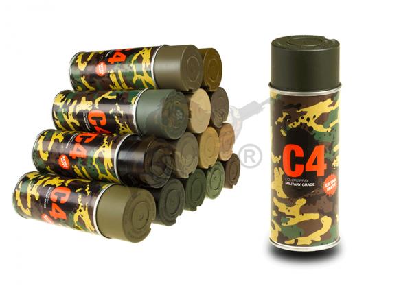 C4 Mil Grade Color Spray in RAL 6008 OD Green - Armamat