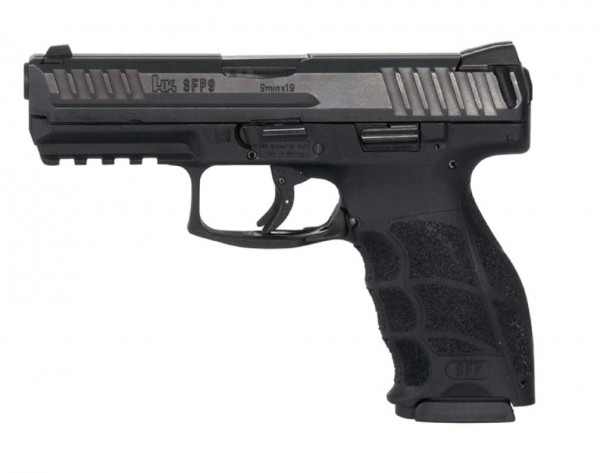 HK SFP9-SF, OR, 9mm Luger Schwarz