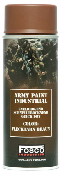 Farbspray Army Paint 400ml Flecktarn Braun- Fosco Industries