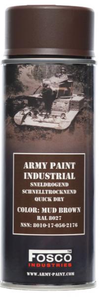 Farbspray Army Paint 400ml Schlamm Braun- Fosco Industries