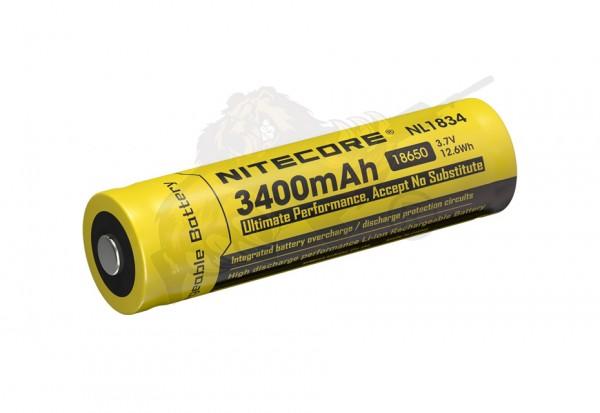 Li-Ion Akku Typ 18650 - 3400mAh - NL1834 - NiteCore