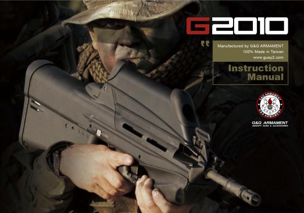 Handbuch - G&G - G2010 . English