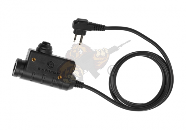 M51 Tactical PTT für Motorola Two Pin Funkgeräte - Earmor