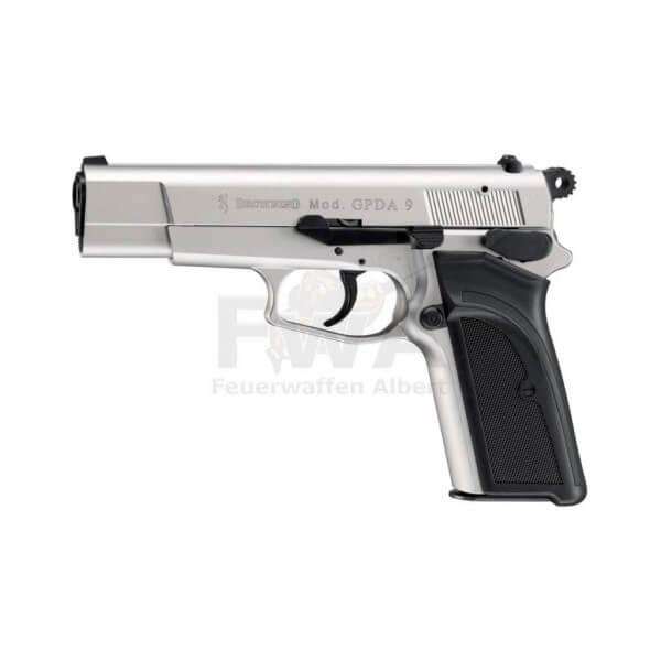 Browning GPDA 9 Schreckschuss Pistole cal. 9 mm P.A.K. Vernickelt