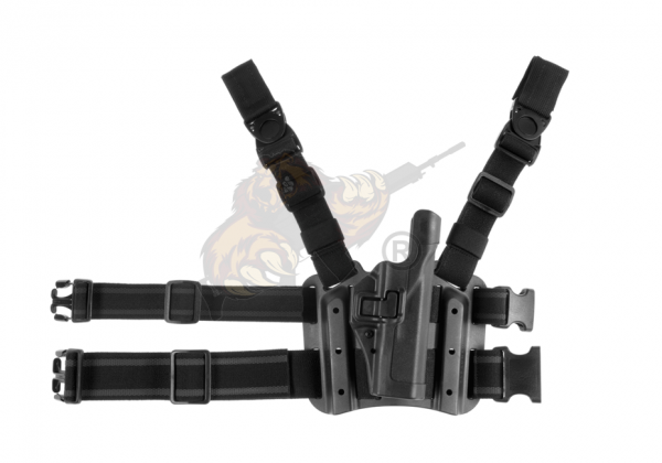 SERPA Holster Set für Glock 17/19/22/23/31/32 Schwarz - Blackhawk