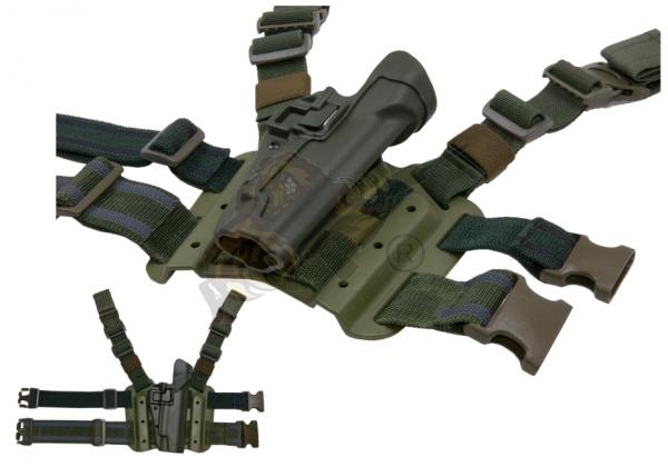 SERPA Holster Set P220/225/226/228/229 in Oliv - Blackhawk
