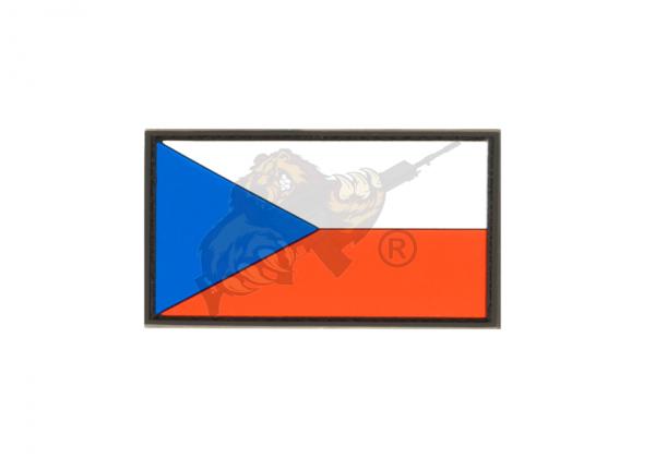 JTG - Czech Republic Rubber Patch Color