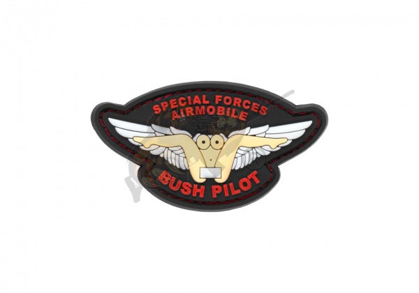 JTG - Bush Pilot Rubber Patch, fullcolor