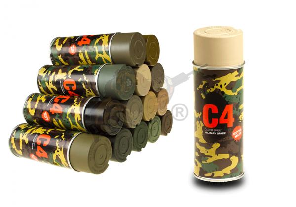 C4 Mil Grade Color Spray in RAL 1039 - Armamat