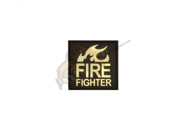 JTG - Fire Fighter Patch, gid (glow in the dark)
