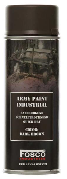 Farbspray Army Paint 400ml Dunkel Braun- Fosco Industries