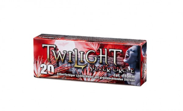 Umarex Twilight Silver Circle - 20 Raketengeschosse