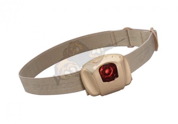 Princeton Tec Kopflampe EOS Tactical in Tan - 45 Lumen
