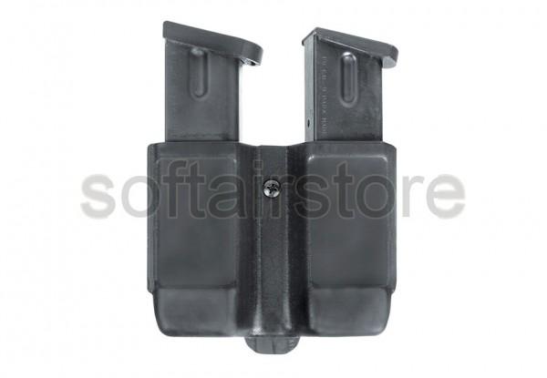 CQC DP-Magtasche Doppelreihig 9 mm in black - BLACKHAWK